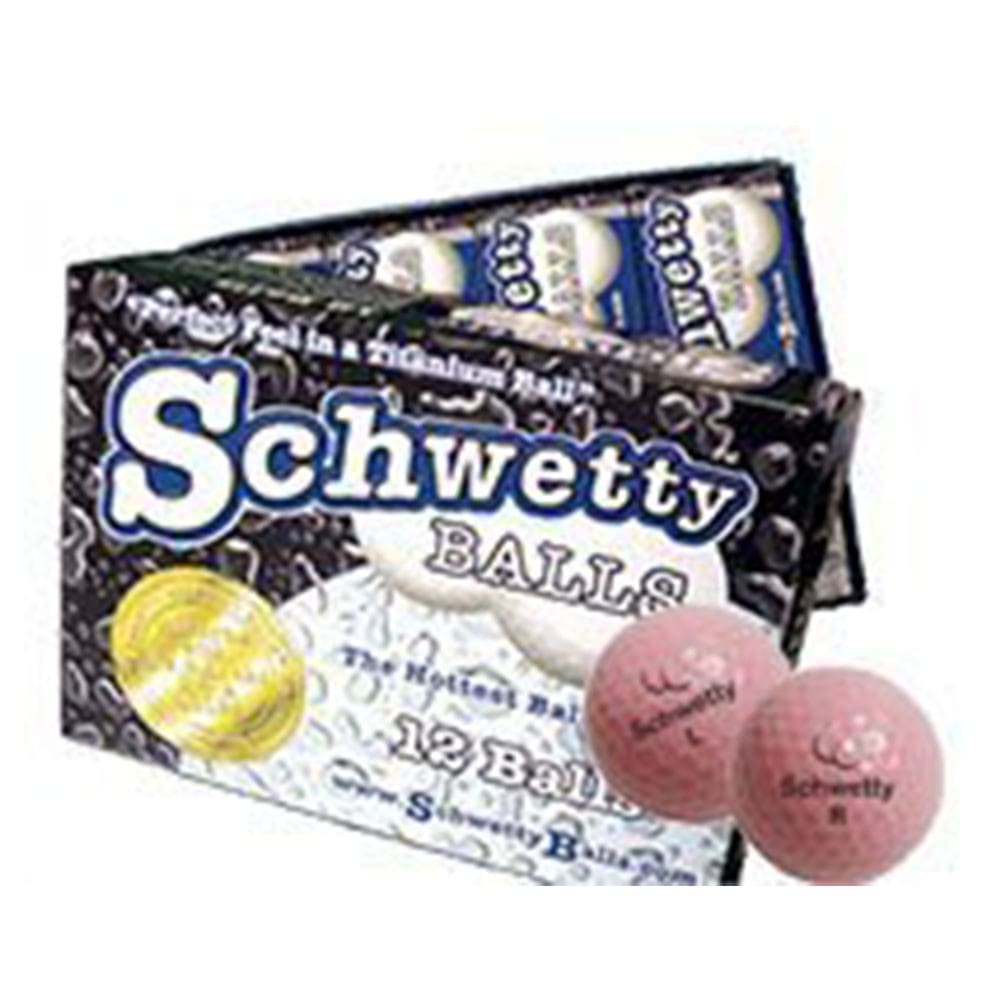 Schwetty Balls - Pink Pair Novelty Golf Balls