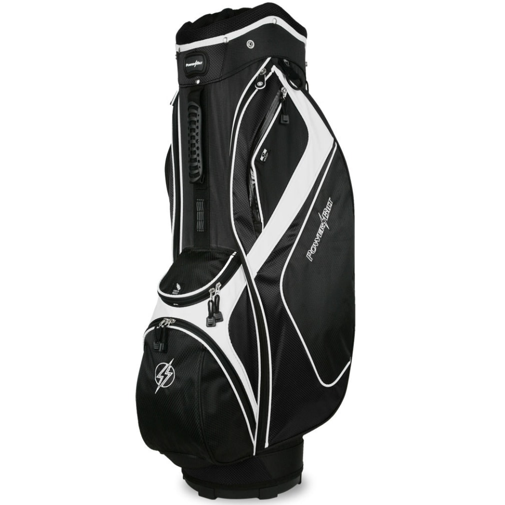 Powerbilt Air Attack Black/Black Cart Bag