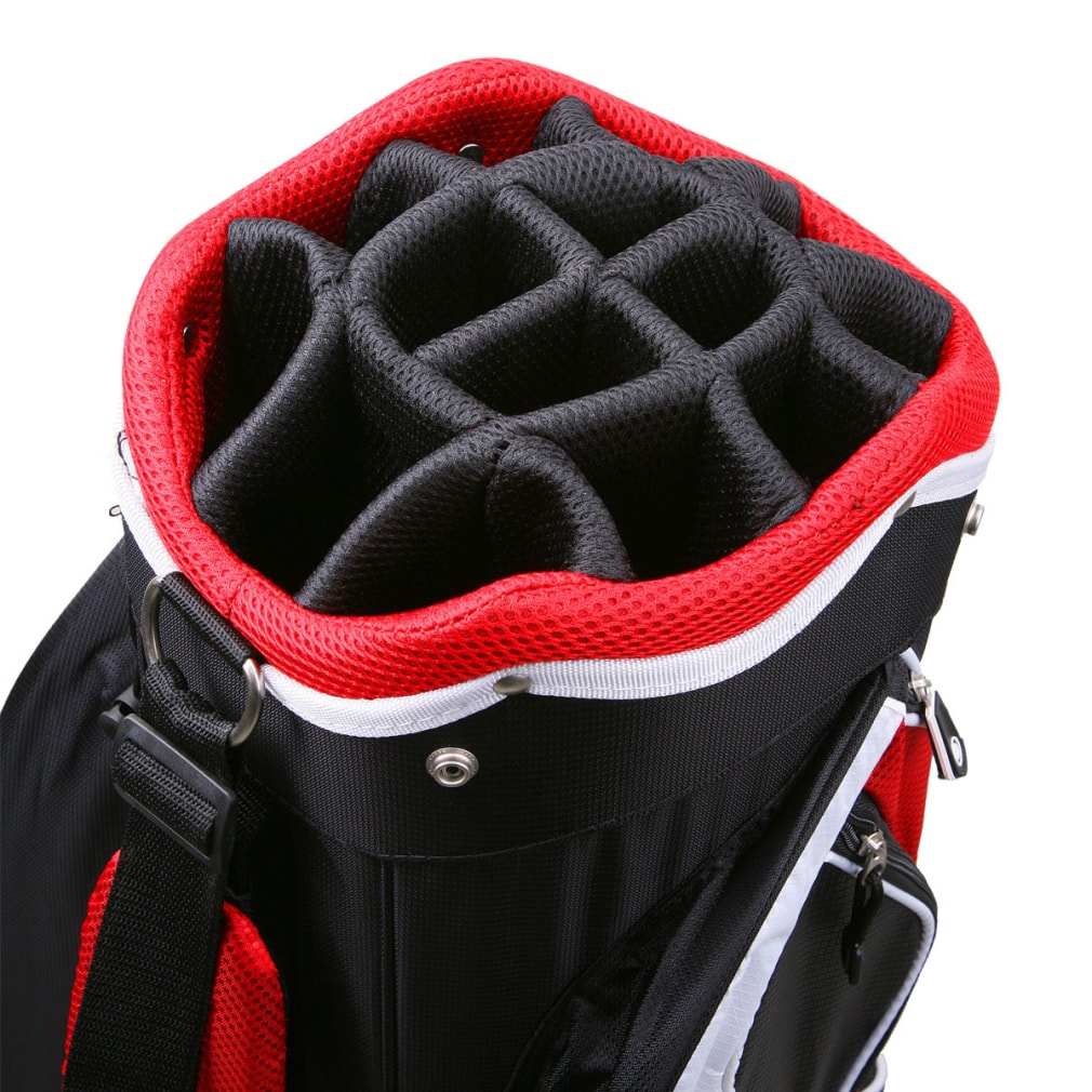 Powerbilt Air Attack Black/Charcoal Cart Bag