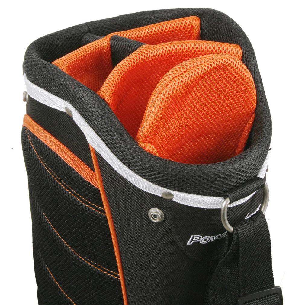 Powerbilt Santa Rosa Black/Orange Stand Golf Bag