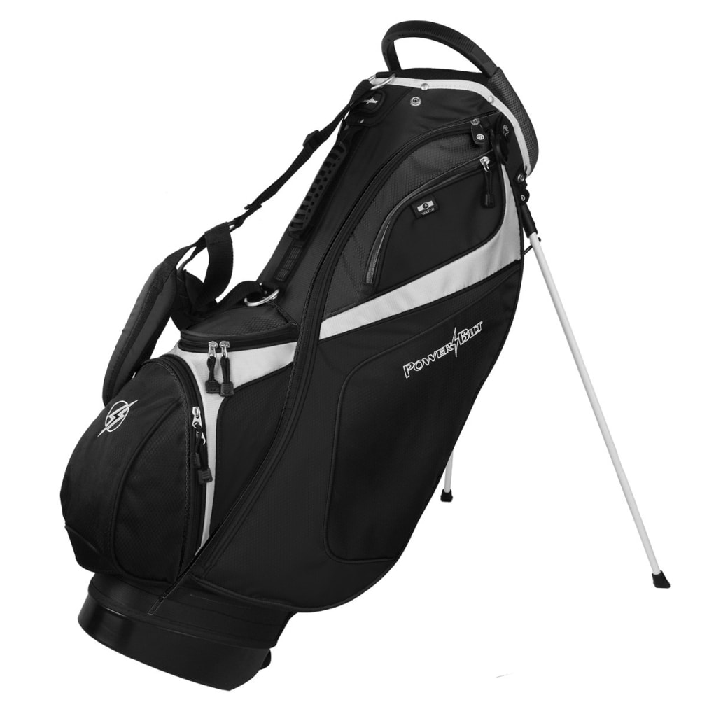 Powerbilt TPS Dunes 14-Way Black/Black Stand Golf Bag