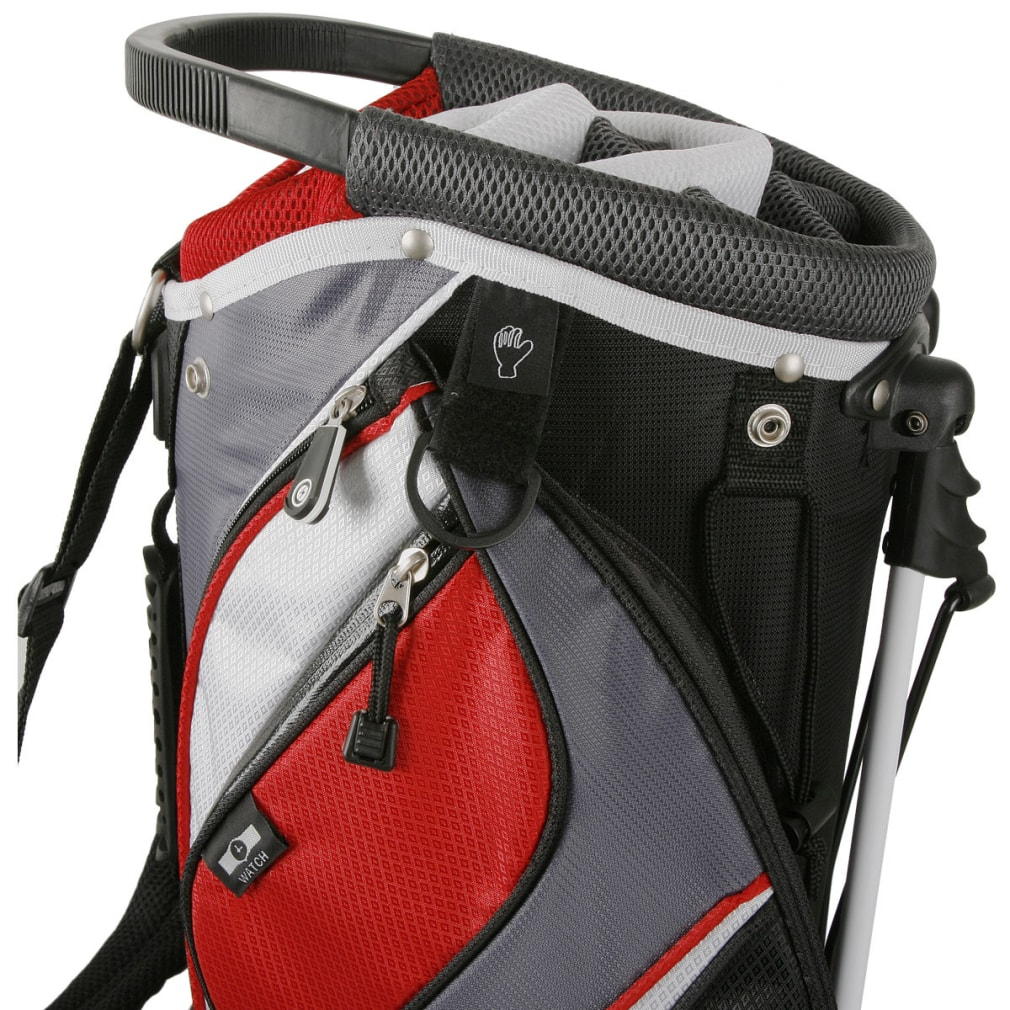Powerbilt TPS Dunes 14-Way Black/Charcoal Stand Golf Bag