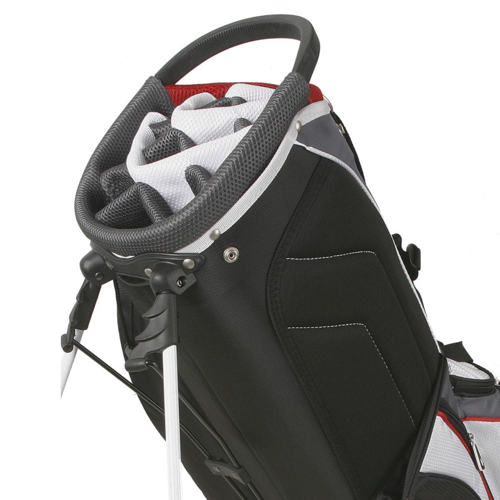 Powerbilt TPS Dunes 14-Way Black/Red Stand Golf Bag