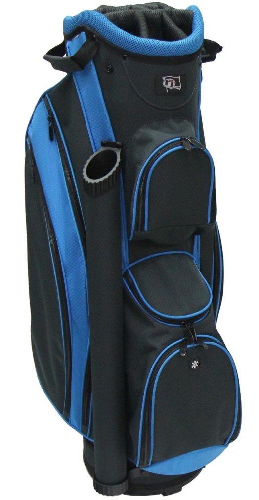 RJ Sports DS-590 Cart Bag - Black/Blue