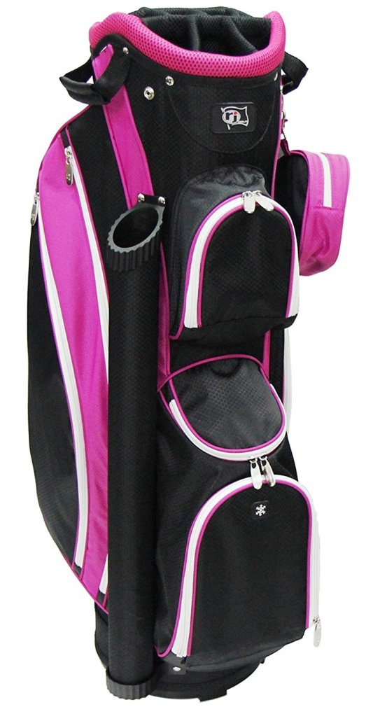 Rj Sports LB-960 Ladies Cart Bag - Black/Pink
