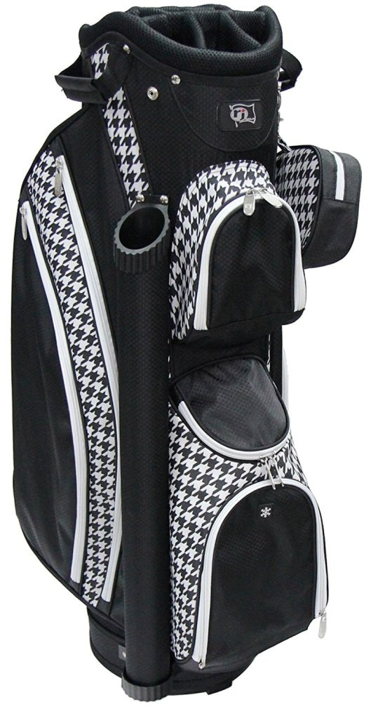 RJ Sports LB-960 Ladies Cart Bag - Houndstooth
