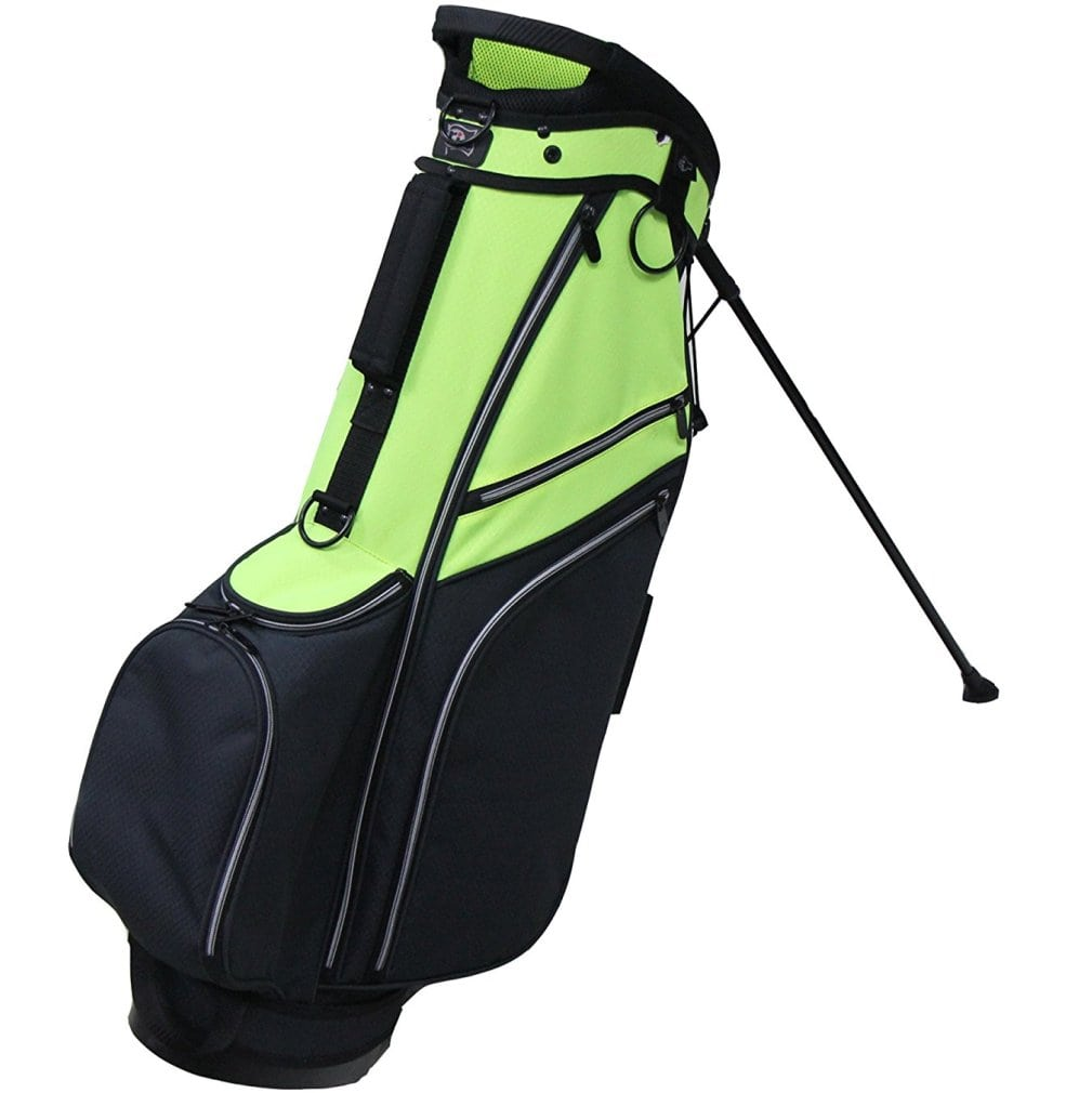 RJ Sports SB-595 Stand Bag - Black/Neon