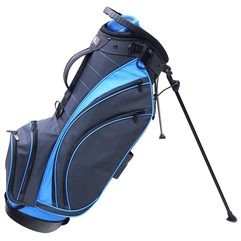RJ Sports SB-495 Stand Bag - Charcoal/True Blue