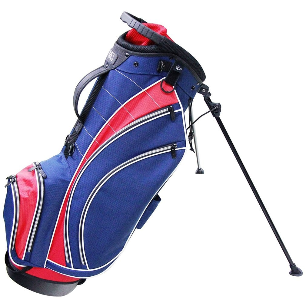 RJ Sports SB-495 Stand Bag - Navy/Red