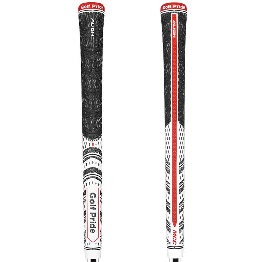 Golf Pride MCC Classic ALIGN Standard White Golf Grip
