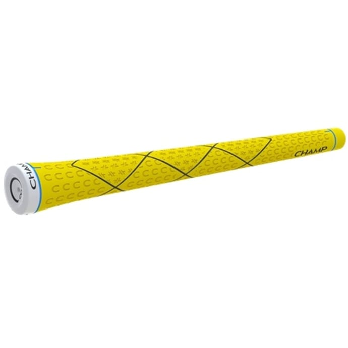 "Champ C8 Golf Grips - Standard Neon Yellow 0.600"" Round"