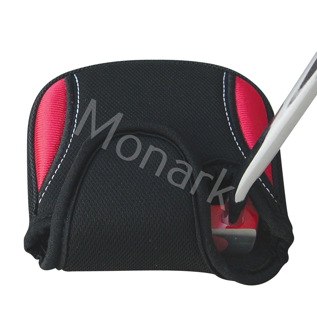 Mallet Putter Headcover Red/Black Oversize - Right Hand