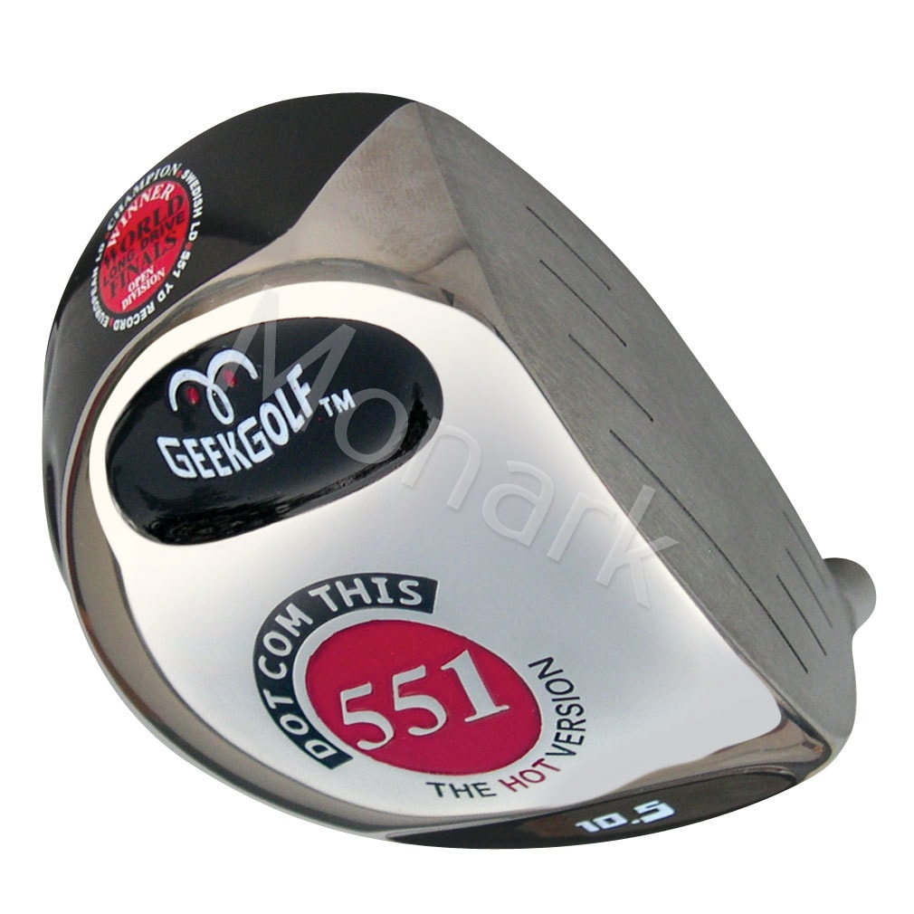 Custom-Built Geek Golf Dot-Com-This 551 Japan Hot Version Titanium Driver - Black