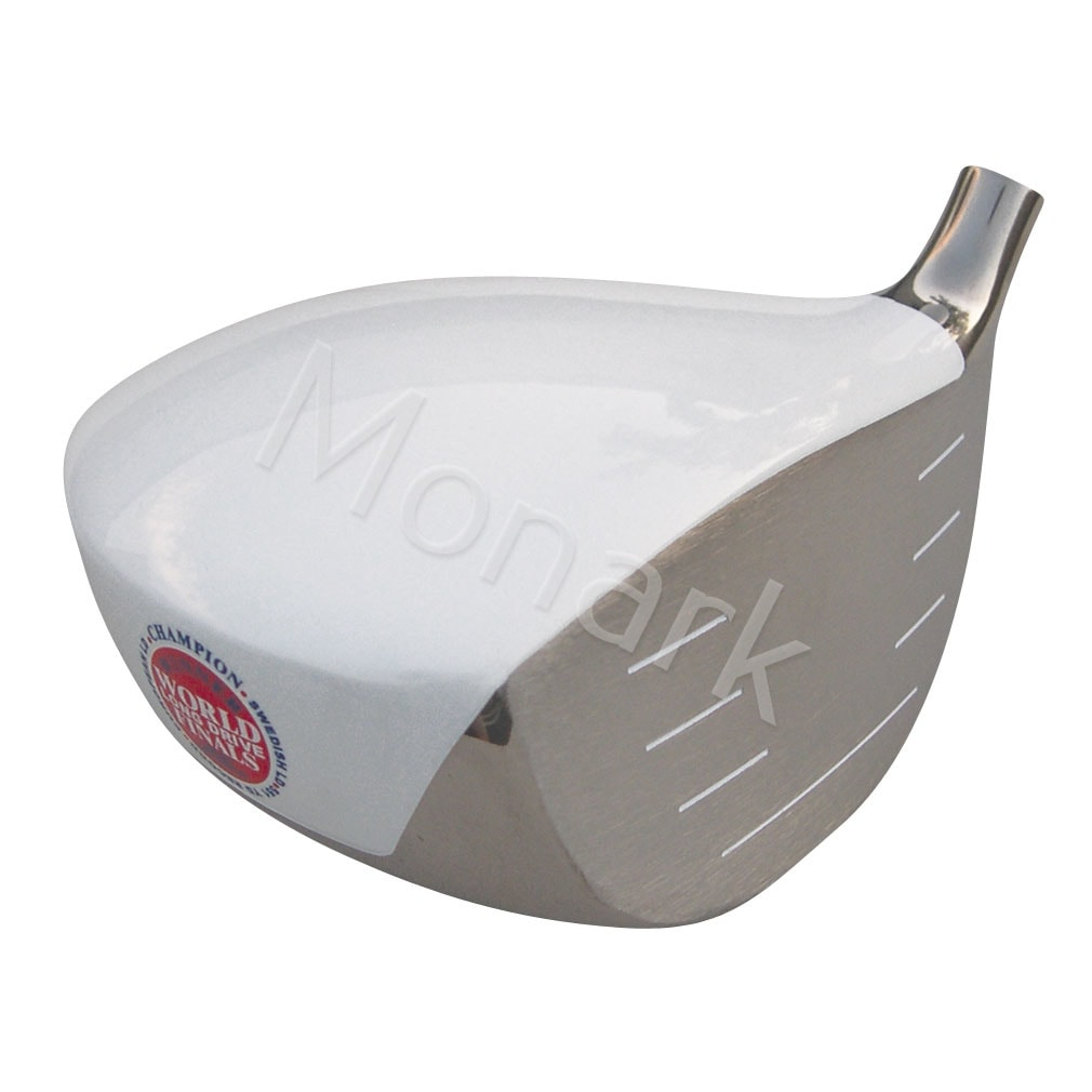 Geek Golf Dot-Com-This 551 Japan Hot Version Titanium Driver Head - White