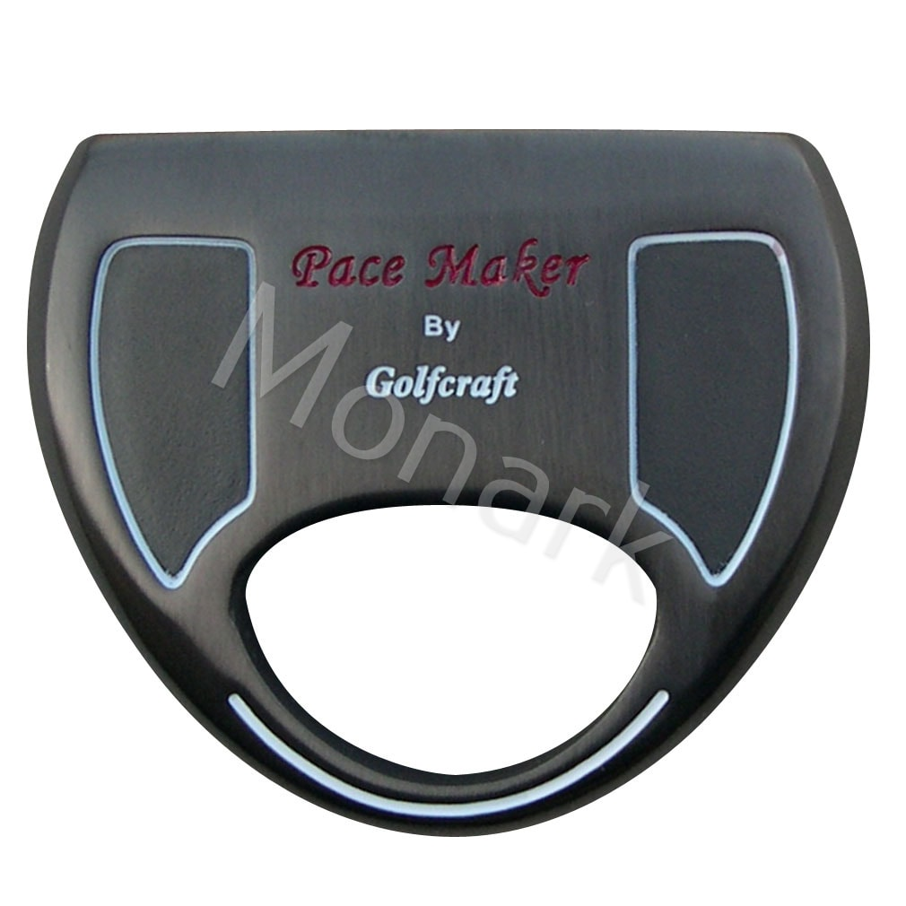 Pace Maker Heavy Mallet Black Plated Putter Head