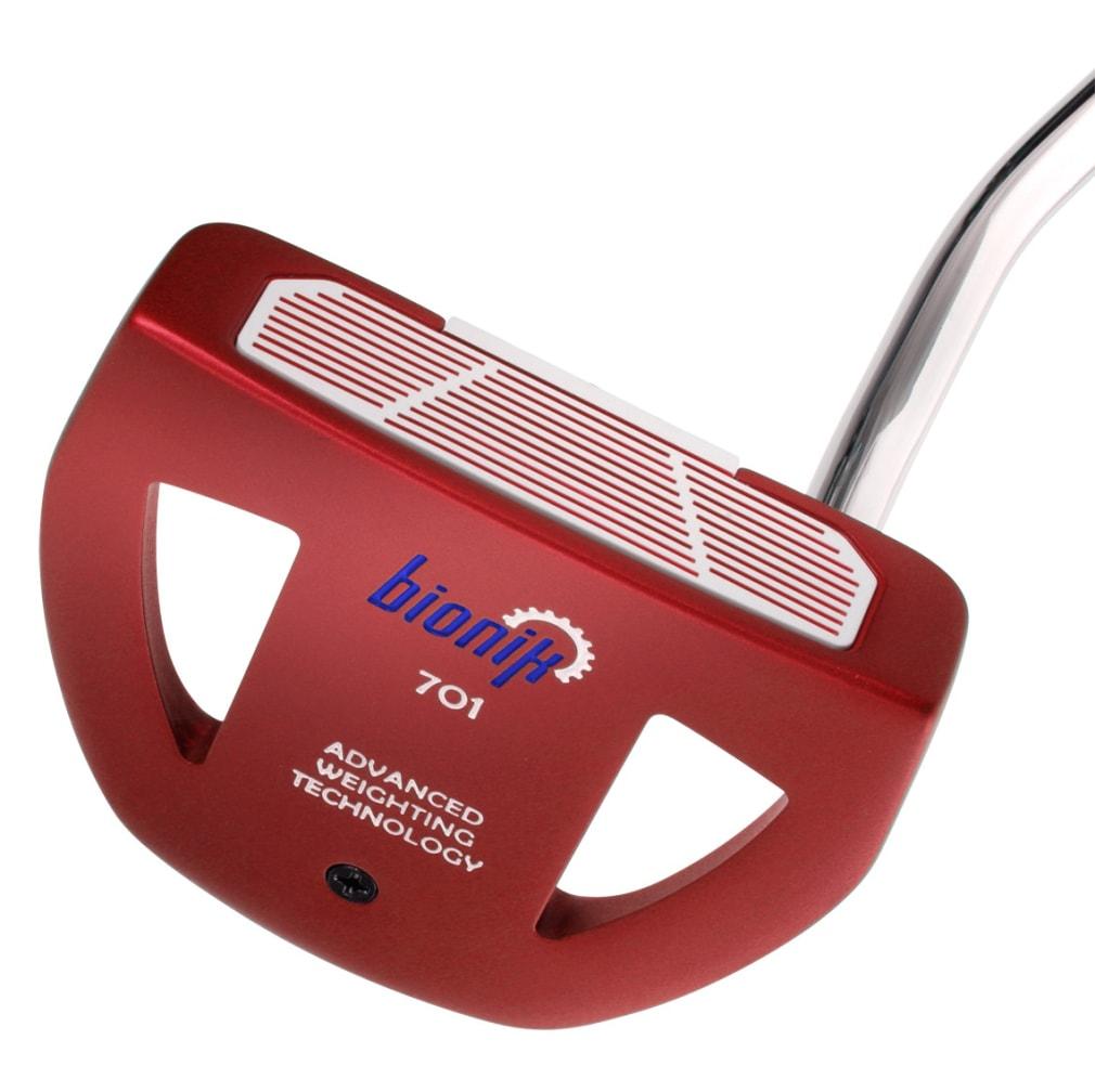 Bionik 701 Red Mallet Putter Head - RH