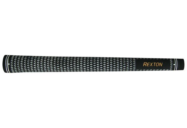 Rexton Velvet Standard Black/White Grip Kit