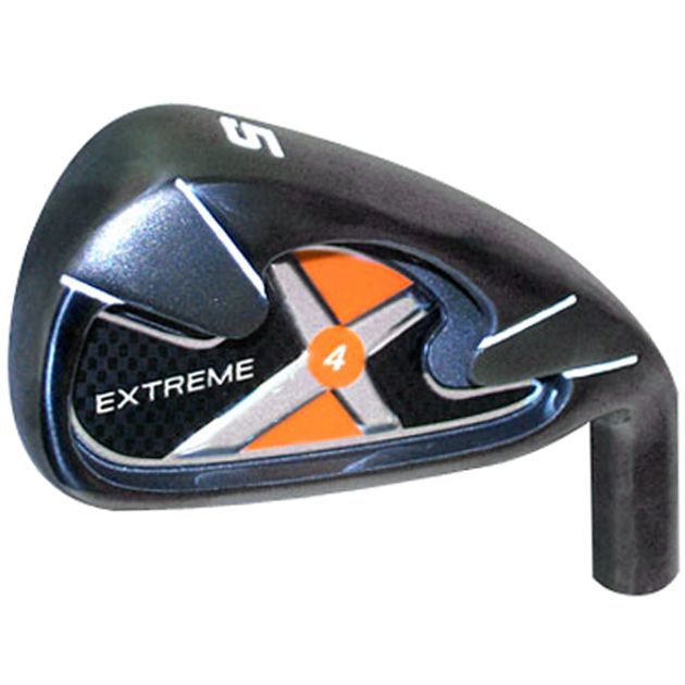 Custom-Built Extreme-4 Black Plasma Iron Set