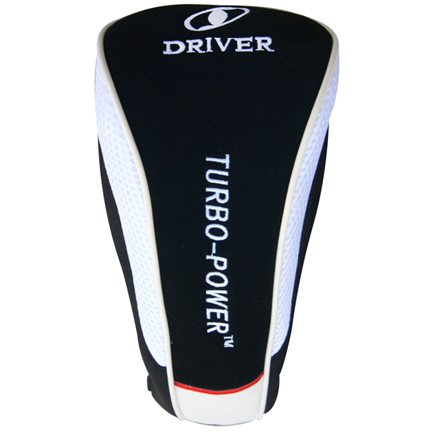 Turbo Power Driver Headcover White/Black