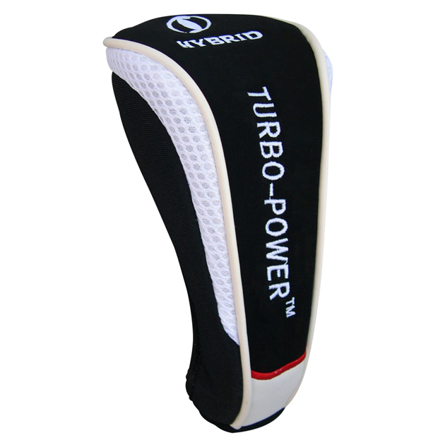 Turbo Power Hybrid Headcover White/Black