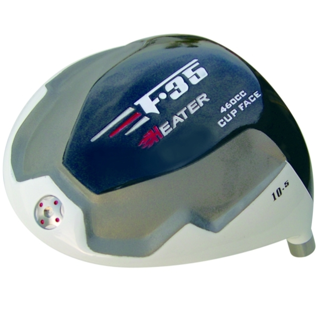 Built Heater F-35 Titanium Driver + 2 x Fairway Woods RH