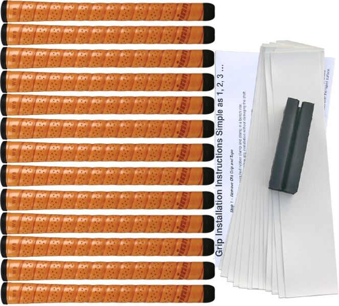 "Winn Excel Midsize (+1/32"") Copper 13 pc Grip Kit"