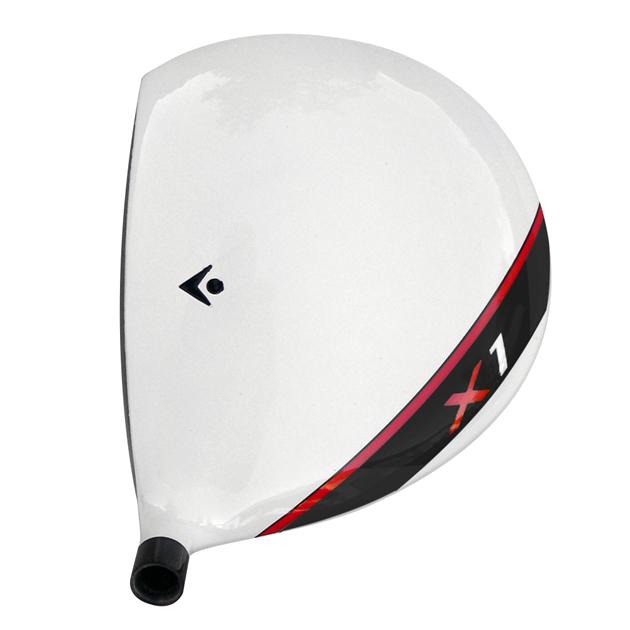 Custom-Built Tour Model X1 Cup Face Titanium Driver White