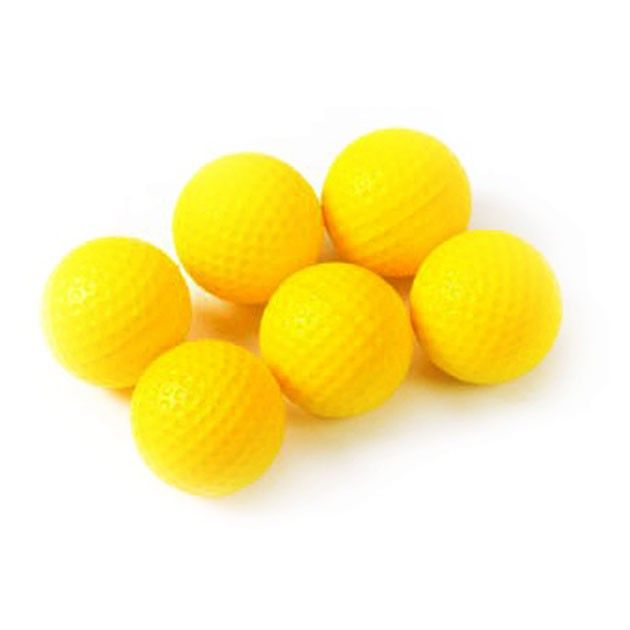 PU Foam Practice Balls - Pack of 6
