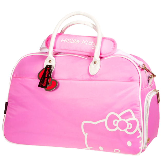 Hello Kitty Diva Duffle Bag - Pink