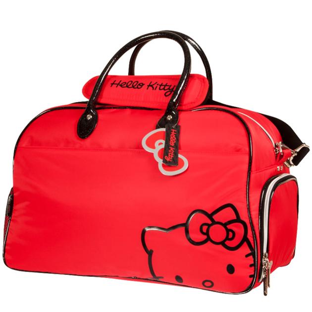 Hello Kitty Diva Duffle Bag - Red