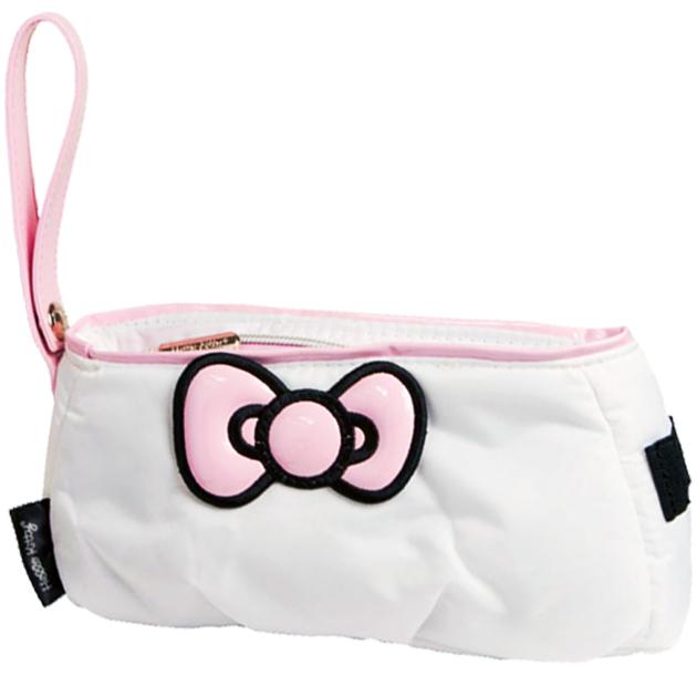 Hello Kitty Diva Pouch Bag - White