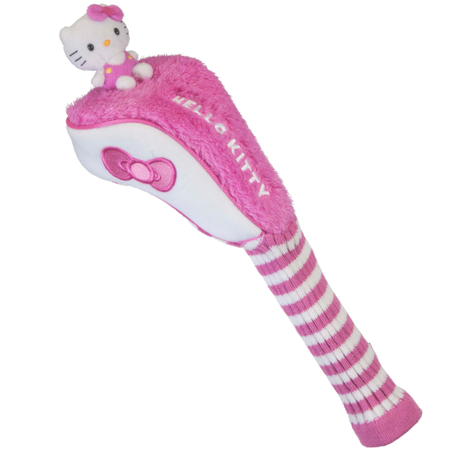 "Hello Kitty Golf Driver ""Mix & Match"" Pink/White Headcover"