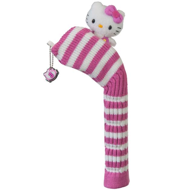 "Hello Kitty Golf ""Mix & Match"" Hybrid Headcover Pink/White"
