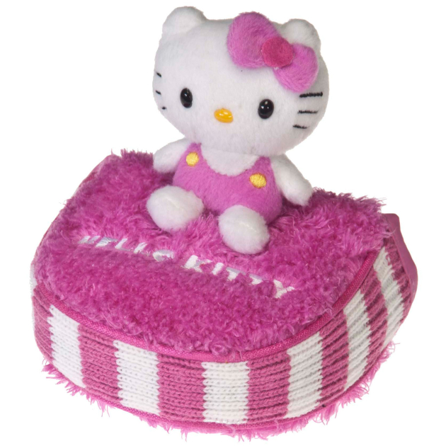 """Hello Kitty Golf """"Mix & Match"""" Putter Mallet Headcover Pink/White"""