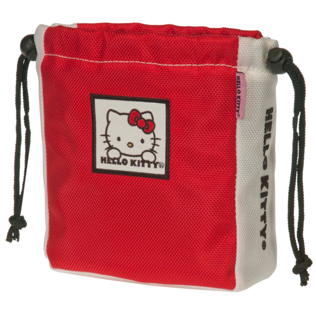 "Hello Kitty Golf ""The Collection"" Ball & Tee Holder - Red"