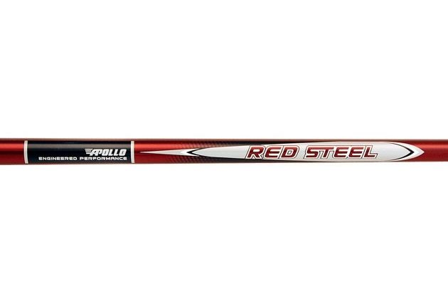 Apollo Red Steel Stepless