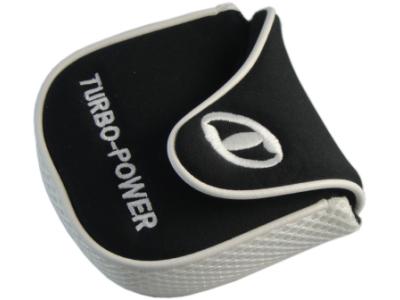 Turbo Power White/Black Putter Headcover RH
