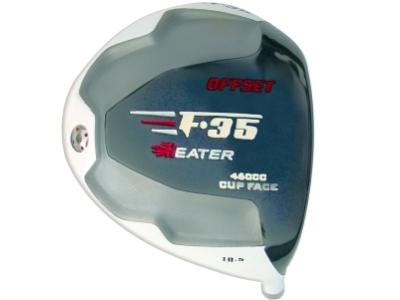Heater F-35 Cup Face Offset Titanium Driver Head RH