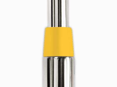 "Yellow Ferrule 1/2"", Pack of 10"