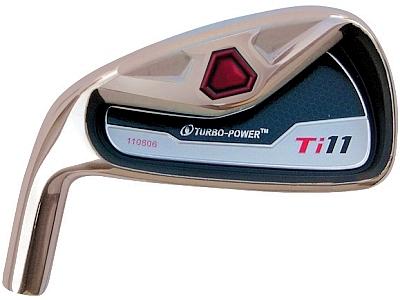 Turbo Power Ti-11 Iron Head LH