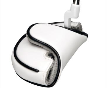 White Half Mallet Headcover