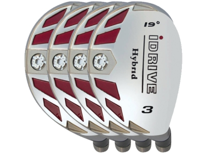 Built iDrive Hybrid 4-Club Steel Set