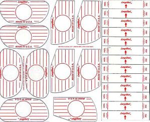 Impact Marking Stickers: Assorted (Box of 410)