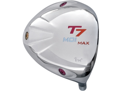 T7 Max MOI Triangular Red Titanium Driver Head