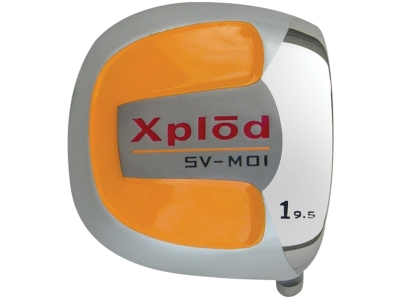 Xplod Square Orange Titanium Driver Head