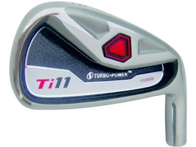 Custom-Built Turbo Power Ti-11 Iron Set