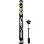 SuperStroke Mid Slim 2.0 Yellow Midnight Putter Grip with Counter Core