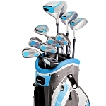 Powerbilt Countess Cyan Women's Package Golf Set