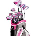 Powerbilt Countess Magenta Women's Package Golf Set