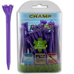 "Champ Zarma FLYTee - 2.75"" Purple Golf Tees 30 pack"